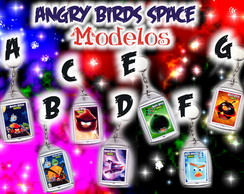Chaveiro Angry Birds Space