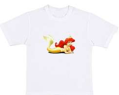 Camiseta A Pequena Sereia