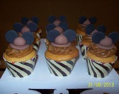 Mini cup Cake Safari