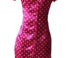 Vestido M�e Minnie Rosa 1089