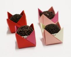 Forminha de Doce Origami