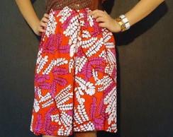 Vestido Estampado Etnico at� tamanho 48