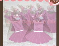 Convite vestido bailarina