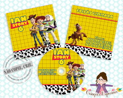 CD | DVD com Capa - Toy Story