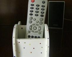 Porta Controles Ondulado Po� Colorido