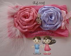 Faixa Infantil Baby_Rosa/ Lilas_106f