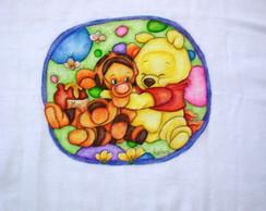 Fralda Ursinho Pooh e Tigr�o