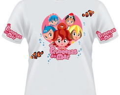 Camiseta Princesas do Mar