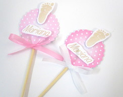 Palito Decorativo P�zinho Girl