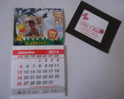 �m� de geladeira com calendario 2014