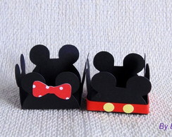 Forminha para doce do Mickey e Minnie
