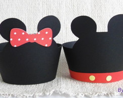 Wrapper para cupcake Mickey/Minnie