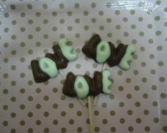 Pirulitos de Chocolate Love