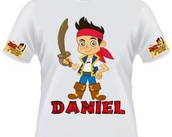 Camiseta Jack e os piratas