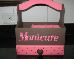 caixa de manicure mdf