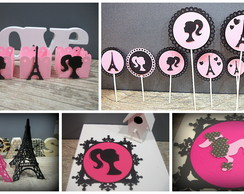 Kit Econ�mico Barbie, Eiffel