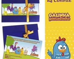 Convite da Galinha Pintadinha
