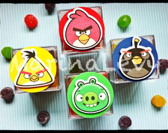 Caixinha Acr�lico - Angry Birds