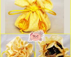 Mini Porta Bijoux Amarelo
