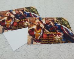 Convite - Os Vingadores