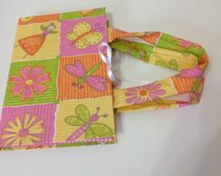 Caderno com capa/bolsa