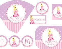 Festa Personalizada Princesas II