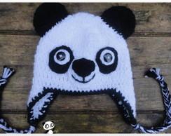 Touca de Croch� Panda