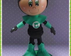 Boneco Lanterna-verde em e.v.a