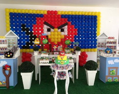Decora��o Clean Angry Birds R$350,00