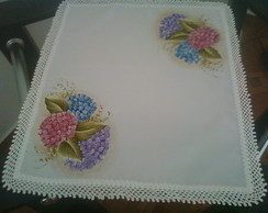 toalha de bandeja pintado