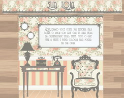 Kit Loja Elo7 Romantic Atelier - POP