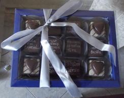 Mensagem No Chocolate