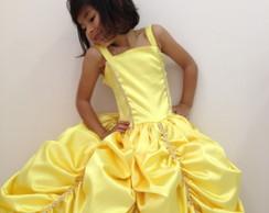 Fantasia Princesa Bela e a Fera Aimi