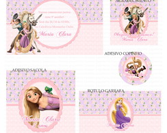 Kit digital Rapunzel Enrolados
