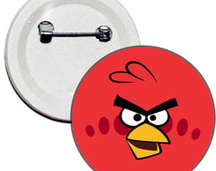 Boton 4,5cm Angry Birds - Red Bird