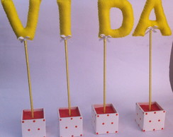 Letras Decorativas Para Festas!!!