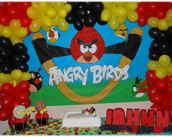 Painel de anivers�rio Angry Birds