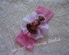 Faixa Infantil Rosa