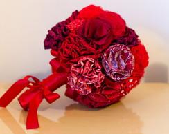 Buqu� De Flores De Tecido Personalizado