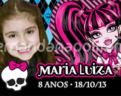 �m� Personalizado - Monster High