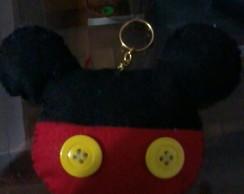 Chaveiro Mickey
