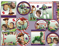 Kit Festa Toy Story Personal Basic