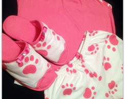 Kit pijama feminino adulto
