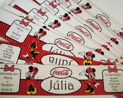 R�tulo Refrigerante Minnie