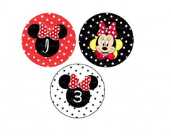 Toppers Minnie Vermelha