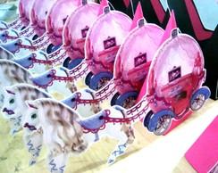 Centro de Mesa Barbie Carruagem