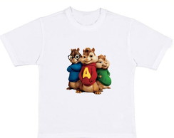 Camisetas Alvin e os Esquilos