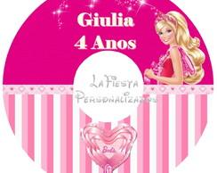 Etiqueta para CD Barbie Sapatilhas