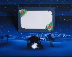 Cart�o de Natal Artesanal