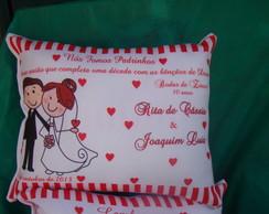 Almofadas para casamentos